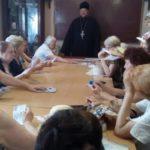 В Мелитополе состоялась встреча благочинного и студентов третьего поколения.