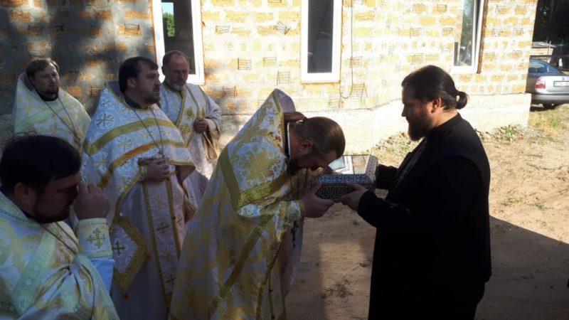 В Мелитополь прибыли мощи святителя Луки Крымского