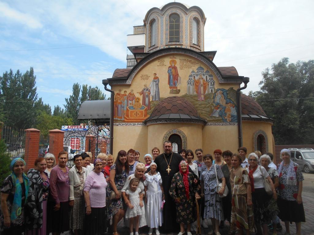 В Мелитополе отметили день памяти св. равноапостольной княгини Ольги и православной бабушки