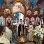 В День Независимости Украины, был отслужен соборно молебен.