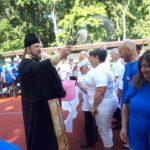 Благочинный церквей города Мелитополя принял участие в открытии спортивных соревнований для инвалидов.