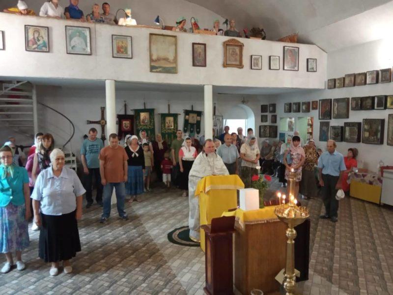 Во всех храмах Мелитополя помолились за предстоятеля Украинской православной Церкви.