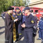 Благочинный Мелитополя поздравил сотрудников МЧС с Днем спасателя.