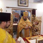 В Мелитополе помолились о пострадавших в ДТП.