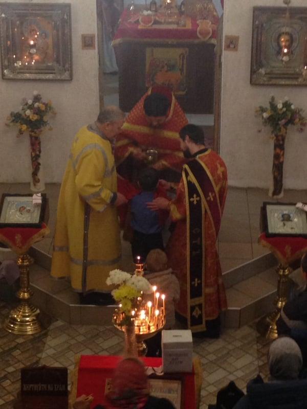 В Мелитополе соборно помолились в день памяти священномученика Сергия Мелитопольского.