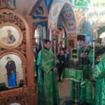 В Мелитополе вознесли своим молитвы св блгв. князю Александру Невскому.