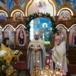 В Мелитополе на поклонение были привезены святителя Спиридона Тримифунтского