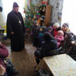 В Мелитополе священнослужители поздравили участников ОО «Лебедушка».