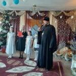 В Мелитополе с Рождеством Христовым поздравили детей лишенных родительской опеки.