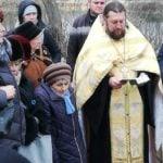 Молитва и окунание, состоялись в Терпеньевском источнике.