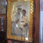В Свято-Александровский кафедральный собор г. Мелитополя вернулась отреставрированная икона.