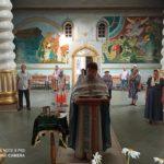 В Мелитополе в храме св. пр. Иоанна Кронштадтского отслужили молебен у иконы Божьей Матери Неупиваемая чаша.