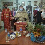 В Мелитополе освятили лекарственные травы и медицинские препараты.