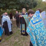 В Мелитополе соборно отслужили благодарственный молебен.