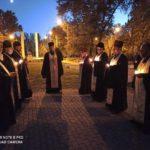В Мелитополе помолились за освободителей города в 1943 году.