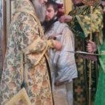 В день рождения св. праведного Иоанна Кронштадтского, в Мелитополе была отслужена Божественная Литургия.