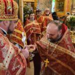 Соборная молитва в день памяти св. свщисп. Феодосия Мелитопольского.